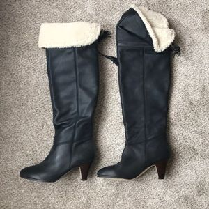 Dolce Vita Black Nico over the knee boots